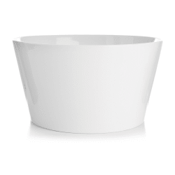 Skål porselen hvit Ø:22,5 H:12,3 cm