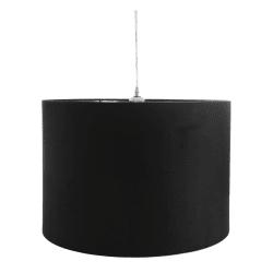 Lampe stor sort Ø:50 H:35 cm