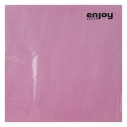 Enjoy Plain servietter rosa 33x33 cm, 20 pk.