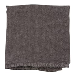 Duk Lotte grå steinvasket lin 90x90 cm