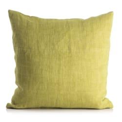 Putetrekk Olivia 100% lin limegrønn 50x50 cm