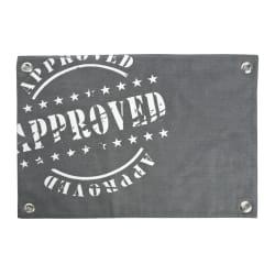 Spisebrikke Florida Approved grå og hvit 33x48 cm