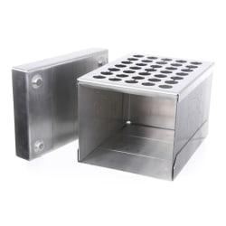 Bålboks 20,5x15,5x14cm stål