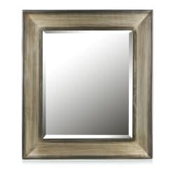 Speil mørk brun H:80 B:70 cm