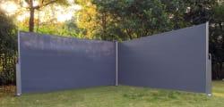 Levegg dobbel 1,6x6m grå
