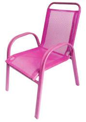 Barnestol stablebar rosa