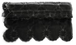 Duk Romantikk sort 150x250 cm