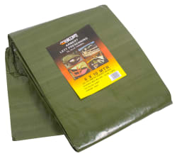 Presenning 6 x 10m 120 gr grønn