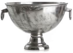 Madame Vinkjøler Champagne sølv  H:34 B:52 D:52