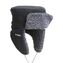 Korean hat fleece S/M fleece sort Eiger