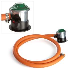 Gassregulator med slange