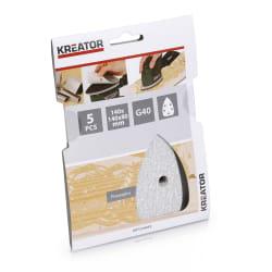 Pussepapir 5 pk K40 for maling minisliper 140 x 140 x 80 mm