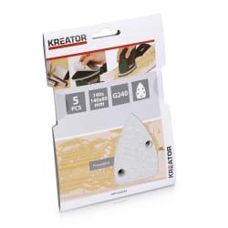 Pussepapir 5 pk K240 for maling minisliper 140 x 140 x 80 mm