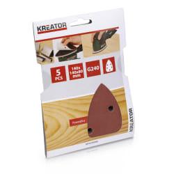 Pussepapir 5 pk K240 minisliper 140 x 140 x 80 mm