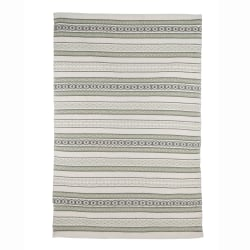 Teppe Tina i oliven/offwhite 120x180 cm