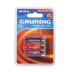 Batteri AAA/LR3 4 pk Grundig