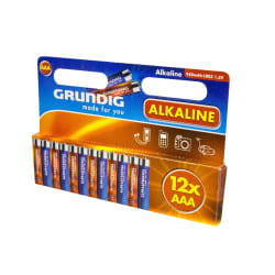 Batteri AAA/LR13 12 pk Grundig