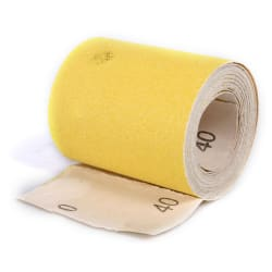 Sandpapir rull 40 korn 93mm x 5 mtr
