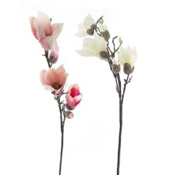 Magnolia gren 2 ass hvit/rosa H:83 cm