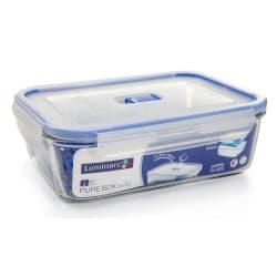 Oppbevaringsboks i glass m/rist Pure Box 197cl