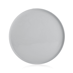 Fat metall Ø:30 cm grå
