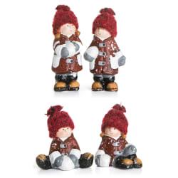 Figur 4 ass barn rød
