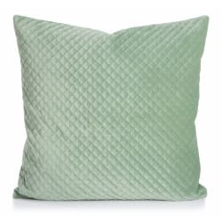 Madame Pute Royal lys grønn polyestervelour med dunfyll H:15 B:50 D:50