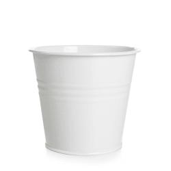 Potteskjuler sink H:13,5 cm hvit