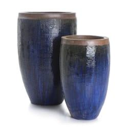 Potte Nouveau sett a 2 blå