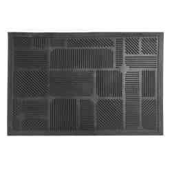 Dørmatte gummi 45x75 cm
