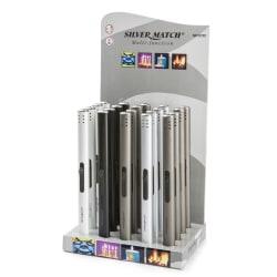 Lighter Silver Match i display assortert