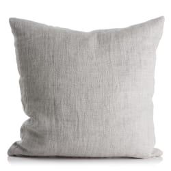 Pute lin m/dunfyll lys grå 50x50 cm Olivia