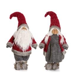 Nisse Kongsberg mann/kone 2 ass rød 78 cm