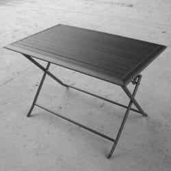 Bord Stryn 74x115 cm aluminium