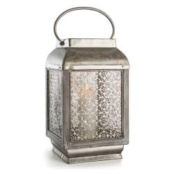 Lykt Indiska m/hank og ornamenter antikk 37 cm