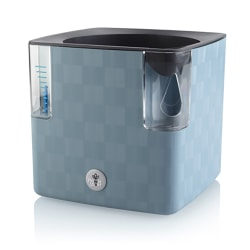 Urtepotte Cobble med selvvanning blå 14x14x14 cm