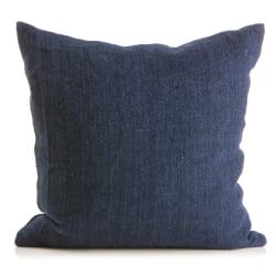 Pute lin m/dunfyll mørk blå 50x50 cm Olivia