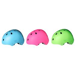 Sykkelhjelm assorterte farger rosa blå grønn