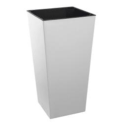 Potte Elise matt hvit 30x30x57,5 cm