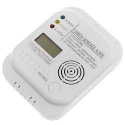 Gassalarm karbon monoxide hvit 12x9x3,5cm