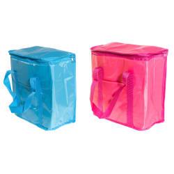 Kjølebag myk med håndtak ass farger rosa turkis 20L