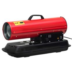Byggvarmer diesel 20kw rød 31x77x42cm