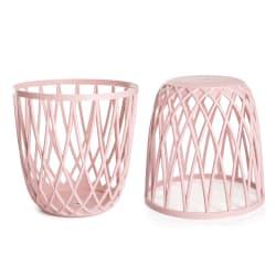 Krakk lys rosa Ø:43cm H:43cm