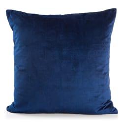 Pute Eline marineblå velour 45x45 cm