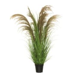 Plante gress i potte grønn 97cm