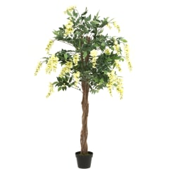 Plante Wisteria på stamme hvit 155cm