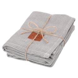 Kjøkkenhåndkle 2-pk grå