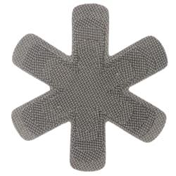 Beskyttelse for gryter og stekepanner 5 pk grå