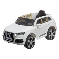 Bil Audi Q7 hvit 121x71x59cm