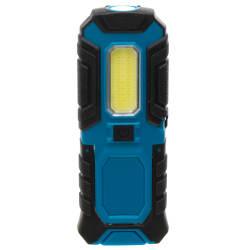 Arbeidslampe håndholdt blå 14,4x5,5x19cm